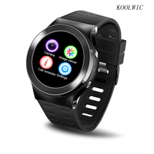 KOOLWIC Watch Phone Adult Smart Watch Wristwatch Pedometer Phone Call surf the Internet Support APP Download Music Video Play