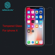 Buy NILLKIN Tempered Glass Screen Protector Apple iphone X iphoneX glass protective film Amazing H&H+Pro Nano Anti-Explosion for $7.69 in AliExpress store