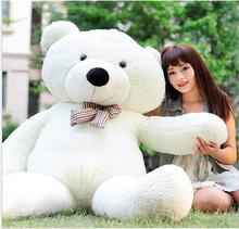 "2017 6 FEET TEDDY BEAR STUFFED LIGHT BROWN GIANT JUMBO 71"" size:160cm"