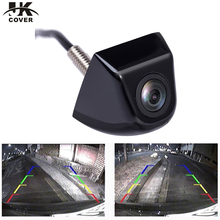 JKCOVER Mini Waterproof Car Parking Assistance Reversing Back Rear View Camera HD CCD Wire Car Rear View Camera(China)