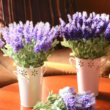 Simulation flower lavender Romantic flowers, Creative home decorations Club, the sitting room decorate with yun to flowers(China)