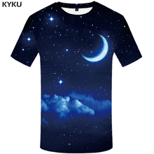 Buy New Brand Stars T Shirt Women Moon Top Tees Cloud Tshirt Night Shirts 3d T-shirt Womens Clothing Woman Clothes Rock Funny for $5.83 in AliExpress store