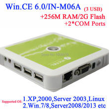 Wholesale N380 thin clients with COM*2 embeded WIN.CE 6.0 128M RAM 128M Flash white color
