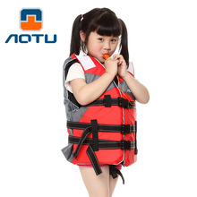 Kid Children Professional Swimming Jackets Drift Fishing Under Buoyancy Vest With Whistle Life Jacket Survival Vest On Boat Kids
