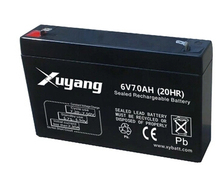 Free shipping 6V 7AH lead acid battery rechargeable battery Children's electric car battery