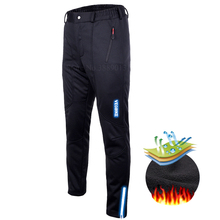 Waterproof Winter Thermal Fleece Male Snow Pants Men Hiking Long Shorts Ski Trousers Windproof Fishing Skiing Snowboarding Pants