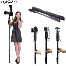 "HAFEI 171CM 67"" Professional Tripod Camera Monopod WT-1003 For Sony Canon Eos Nikon D SLR DSLR Lightweight Camera With Bag(China)"