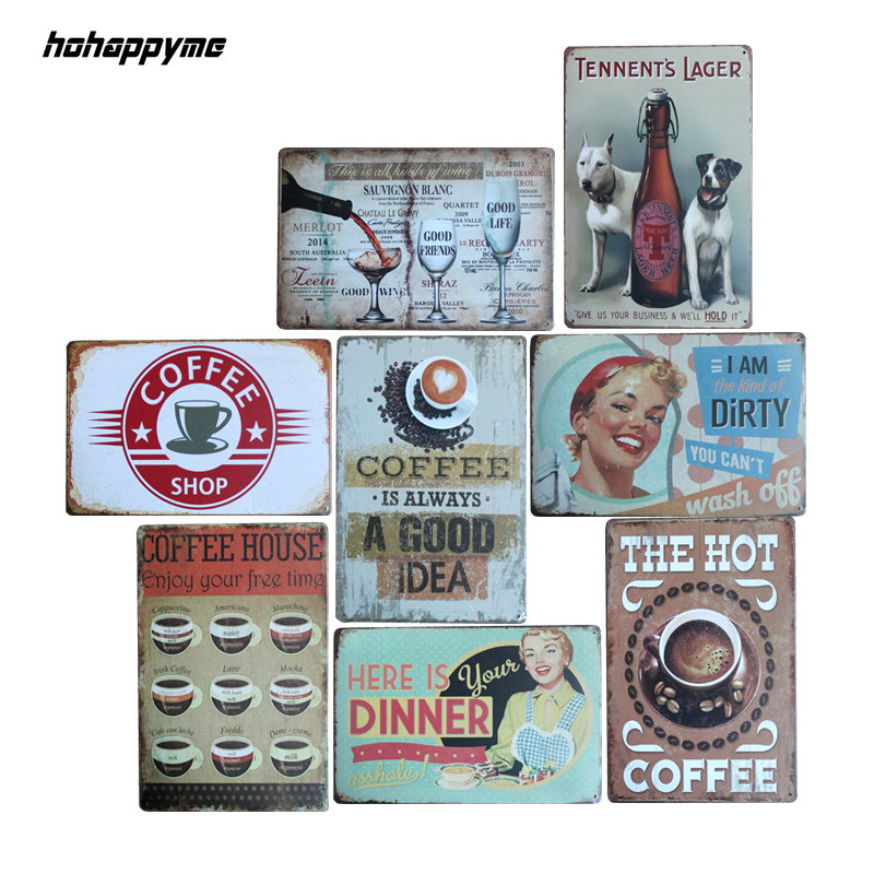 COCA COLA MENU METAL TIN SIGNS vintage cafe pub bar garage decor retro kitchen