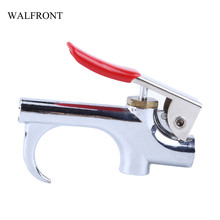 WALFRONT Zinc Alloy Dust Gun Blow Compressed Air Duster Nozzle Tool Cleaning Airbrush Hand Tool Woodworking Washing Cleaner