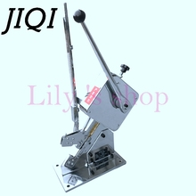 JIQI U-shape Sausage Clipper Food Clipping maker manual tying packer Plastic Bags packing machine Supermarket Tightening sealer(China)