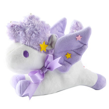 Super Kawaii Sanrio Cartoon Little twin Stars Unicorn Plush Toy Soft Stuffed Animal Doll Pendant Kids Bbay Toy Girl Bithday Gift(China)