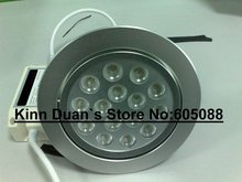 2014 hot sell ! 15w high bright Cree led downlight,work with 12V AC/DC power, 10pcs/lot free shipping!
