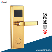 Smart IC/ID card lock hotel/apartment/office electromagnetic induction door lock(China)