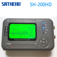 [Genuine] Sathero SH-200HD DVB-S2 Digital Satellite Finder Meter Sat Finder 200HD High Definition USB 2.0 Spectrum analyzer(China)