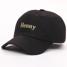 VORON 2017 new brand Henny Embroidery Dad Hat men women slouch Cotton Baseball Cap curved bill ADJUSTABLE BUCKLE RETRO SUMMER