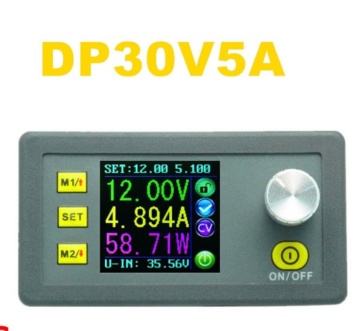 LCD Digital DP30V5A Constant Voltage current Step-down Programmable converter Power Supply Ammeter voltmeter Module<br><br>Aliexpress