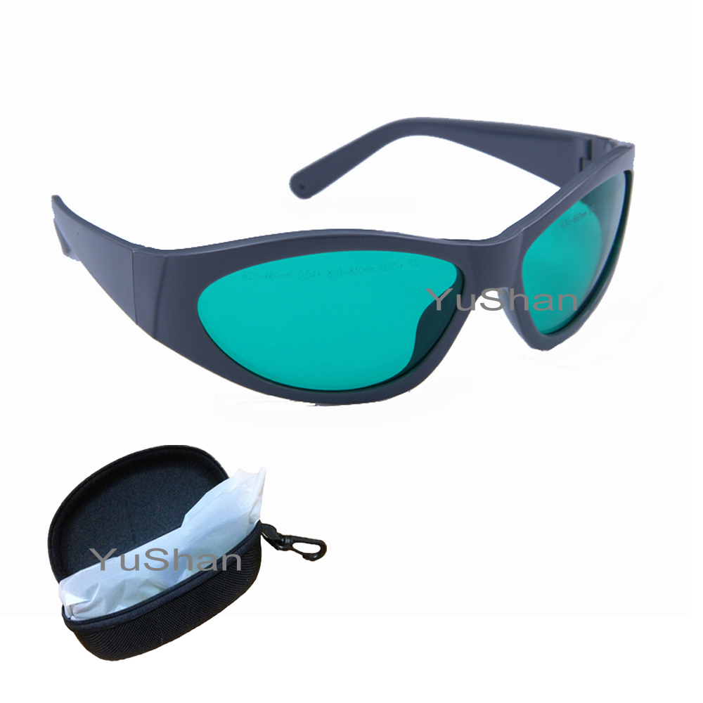 635nm, 808nm Laser Protective Goggles Used in Red and Diode Laser Protection Laser Safety Glasses Ce Certified<br>