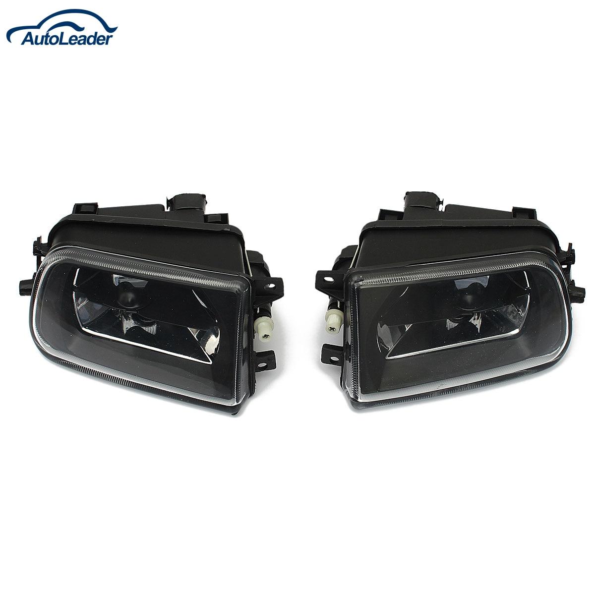 1 Pair Car Fog Lights Driving Spot Lamps Black Housing For BMW E39 5 SERIES Z3 1997-2000<br><br>Aliexpress