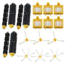 Replacement 18Pcs Sweeper Robot Beater Bristle Brush Filter 6 Armed Side Brush Accessories Set Series for 760 770 780Vac Filters(China)