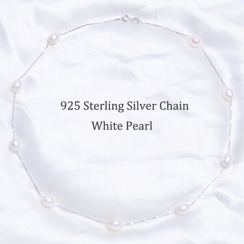 ASHIQI-Real-925-sterling-silver-necklace-White-pearl-necklace-7-8mm-Real-Natural-Freshwater-pearl-Jewelry (1)