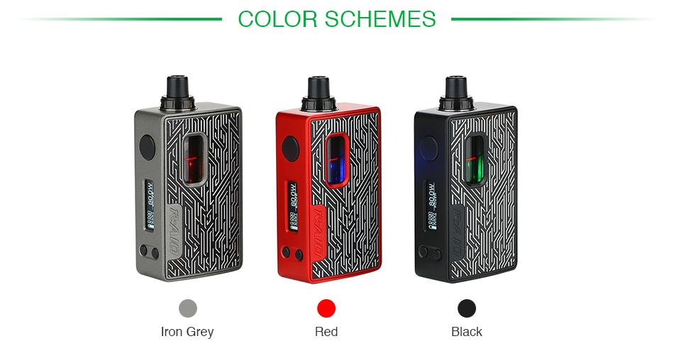 Hotcig R-AIO 80W TC Kit