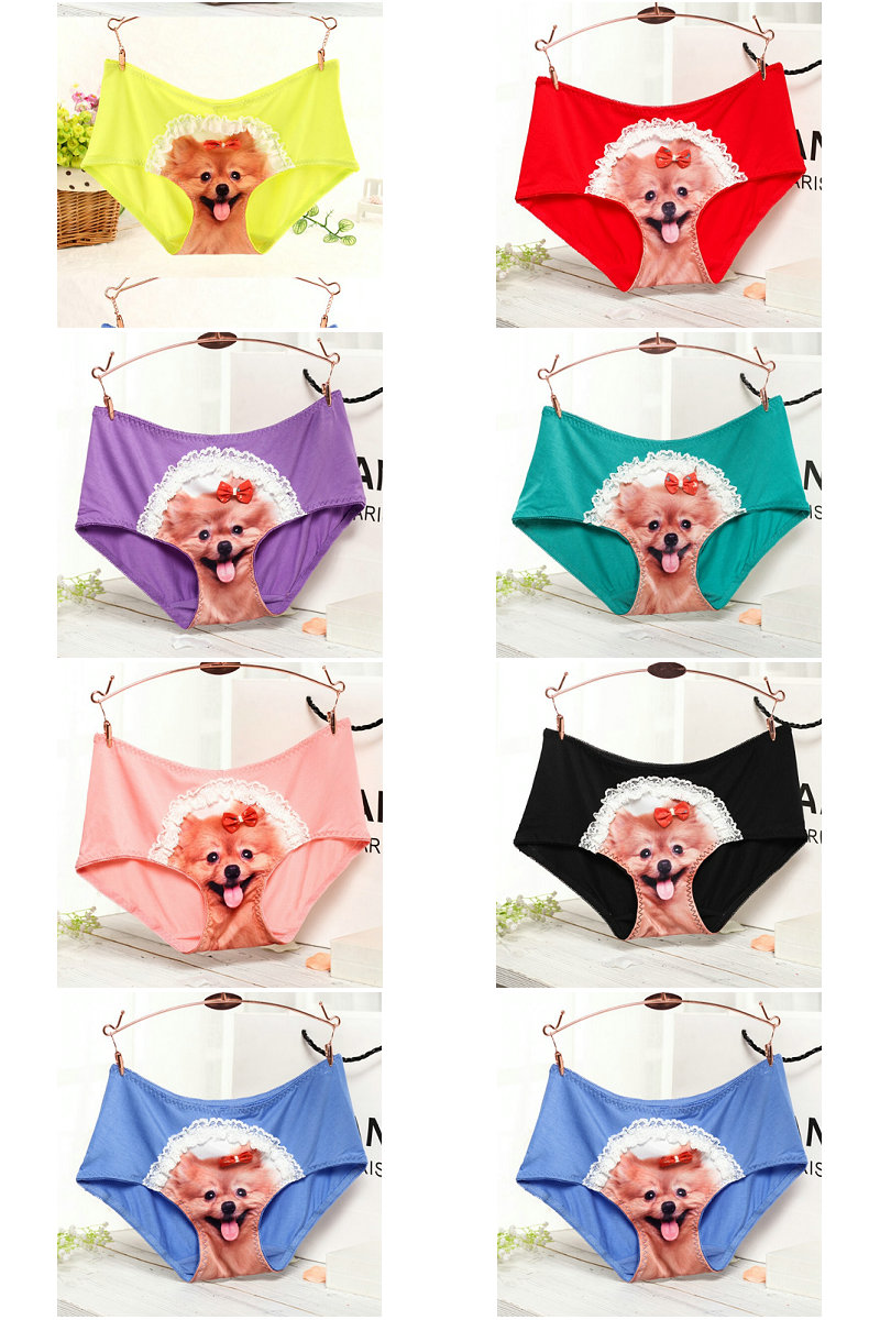 0cd2f21274e5 Detail Feedback Questions about Hot 3D Comet Puppy Cotton Panties ...