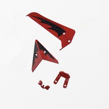 Tail Decoration Red Syma S107 S107G For R/C Mini Helicopter Rc Spare Parts Accessories(China)