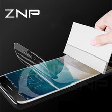 Buy ZNP 3D Soft Full Cover Hydrogel Screen Protector iphone 6 7 8 Plus X Screen Protector Film iphone X 10 8 7 6s Glass for $2.95 in AliExpress store