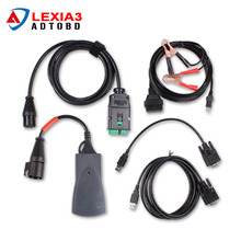 A++ quality Lexia 3 V48 diagbox v7.65 PP2000 for Citroen for Peugeot Professional Diagnostic Tool Lexia3 pp2000 DHL Free(China)