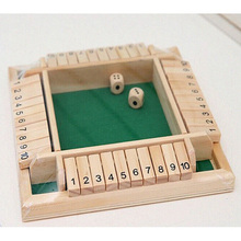 2/4 layers Digital Puzzle Board GameShut The Box Game Set Number Drinking Games For Friends/Family(China)