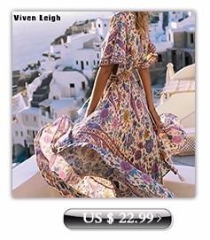Viven Leigh Ladies Vintage Bohemian Long Vestidos 2017 Beach Dress Summer Maxi Dress Plus Size 3XL Women Clothes Sexy Split Robe