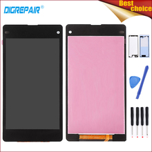 Buy High Black Sony Xperia Z1 Mini Compact D5503 M51W LCD Display Digitizer Monitor Touch Screen Assembly+Tools+Adhesive for $25.93 in AliExpress store