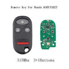 LARATH 3pcs*4 Buttons Replacement Keyless Entry Remote Key Fob Clicker Transmitter For Honda Accord 1998-2002 Acura TL 1999-2003(China)