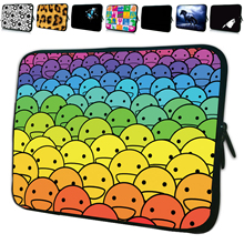 Unique Zipper 7 10 12 13 14 15 17 inch Laptop Sleeve Bag Soft Portable Cover Cases Neoprene Pouch For Macbook Acer Aspire One HP