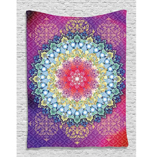 175 CM Mandala Towel Bedspread Shawl Indian Tapestry Bohemian Tapestry Wall Hanging Table Cloths
