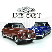 1:36 Scale Models Metal Vintage Classic Car  Toys DIT CAST High Quality Alloy Kids Toys  2 Doors Model Car