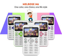 MELROSE M6 1.70 inch Single Core Card Cell Phone 480mAh Camera Bluetooth with MP3 Playback FM Alarm E-book for Children Kids