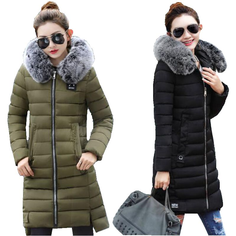 high quality womens parks Winter coat with hood winter womens cotton quilted long jacket jacket new winter womens outerwearÎäåæäà è àêñåññóàðû<br><br>