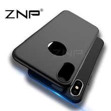 Buy ZNP Luxury Hard Back Plastic PC matte Cases Apple iPhone X Red case Full Cover Phone Cases iphone X Case Protect shell for $1.69 in AliExpress store