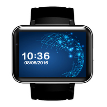 Factory DM98 Bluetooth Smart Watch Android 4.4 OS 3G Smartwatch Phone MTK6572 Dual Core 1.2GHz 4GB ROM With Camera WCDMA GPS