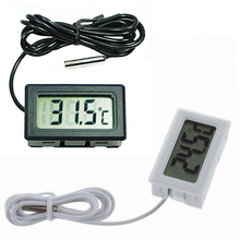 New Fish Aquarium Water Fridge 2m Probe LCD Mini Digital Thermometer Tester