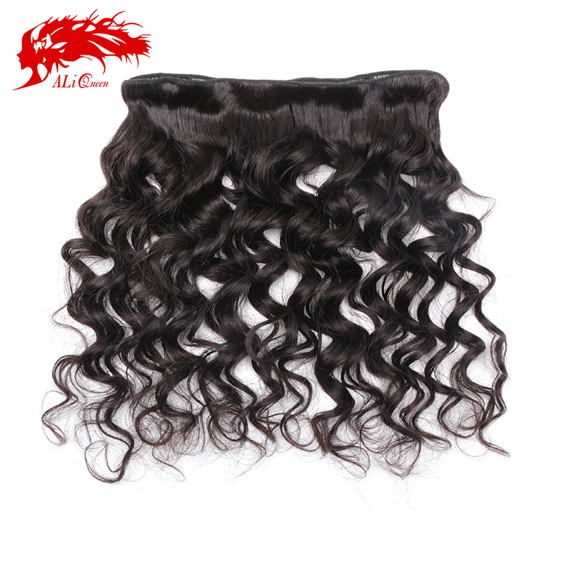 Ali Queen Hair Products Brazilian Virgin More Wave Hair 3Pcs/Lot Virgin Human Hair Weave Bundles For Hair Salon Free Shipping