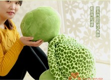 stuffed animal cute tortoise plush toy 75cm green turtle with big eyes doll about 29 inch toy p0085(China)