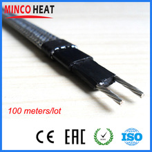 Brand Freeze Free Self Regulating Electric Pipe Heating Cable 100 meters 120V 230V 12mm 30W/M(China)