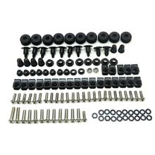 KEMiMOTO Motorcycle YZF R6 Complete Fairing Bolt Screws Kit For Yamaha YZF-R6 1999 2000 2001 2002 Accessories(China)
