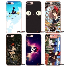 For iPhone X 4 4S 5 5S 5C SE 6 6S 7 8 Plus Samsung Galaxy J1 J3 J5 J7 A3 A5 2016 2017 Kikis Delivery Service Watercolors Case(China)