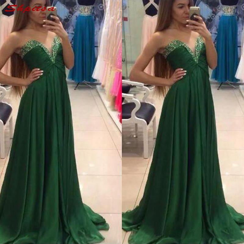 Green Mother of the Bride Dresses for Wedding Plus Size Evening Prom Groom Dinner Dresses 2018