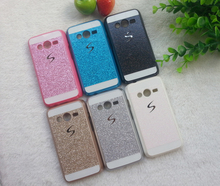 Luxury Glitter Case For Samsung Galaxy Ace 4 Lite G313 G313H Ace 4 Neo G318H SM-G318H Sparkle Glitter Plastic Cover Phone Cases
