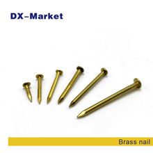 1.5*10mm , 1600pcs , brass nails high quality DIY accessories , m1.5 woodworker anti rust nail