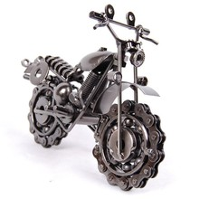 Metal model motorcycle novelty iron crafts decoration chain motorcycle fashion home decor
